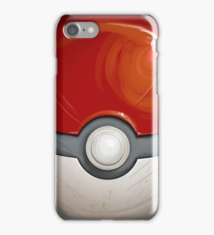 Wartorn Pokeball - Red iPhone Case/Skin