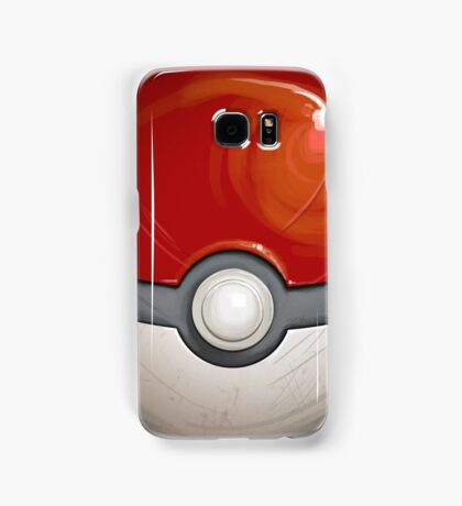 Wartorn Pokeball - Red Samsung Galaxy Case/Skin