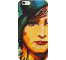 Human Face. Expression 40 iPhone Case/Skin
