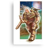 Woman Cosmonaut Soldier - Comics Character Canvas Print