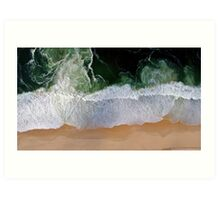 Beach Aerial View Art Print