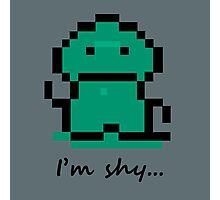 I'm shy - Earthbound Tenda Photographic Print