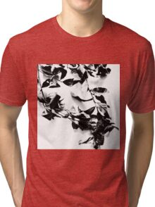 Black leaves Tri-blend T-Shirt