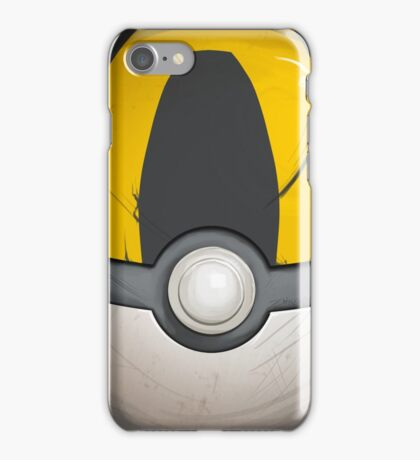 Wartorn Pokeball - Ultra iPhone Case/Skin