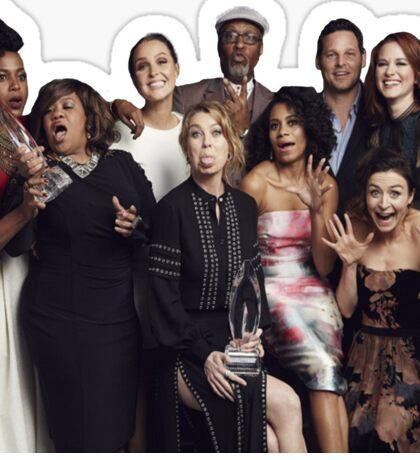 Greys Anatomy Cast at People's Choice Sticker