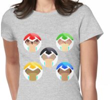 Voltron, all paladins Womens Fitted T-Shirt