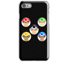 Voltron, all paladins iPhone Case/Skin