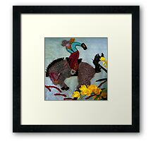 There's Gold In Them Thar Hills Framed Print