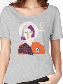 Who I am. T-shirt femme coupe relax