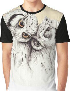 Little Owls cuddling Graphic T-Shirt