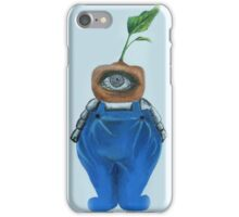 Eco-Bot  iPhone Case/Skin