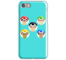 Voltron, all paladins with eyes iPhone Case/Skin
