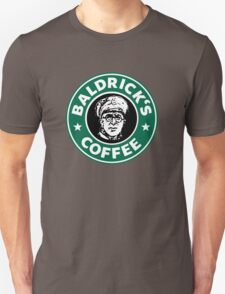 Baldrick's Coffee - Large Logo Unisex T-Shirt