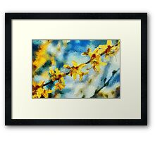 Wild Orchid Blooms Framed Print