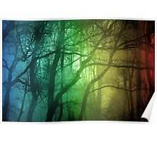 Color Tree, Forest Poster