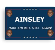 Make America spicy again  Canvas Print