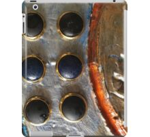 STEAMPUNK METAL BUTTONS NUMBER 6 iPad Case/Skin