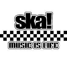 Ska Music is life Photographic Print
