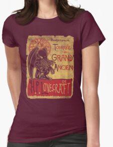 Tournee du grand ancien Womens Fitted T-Shirt