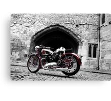The 39 Speed Twin Canvas Print