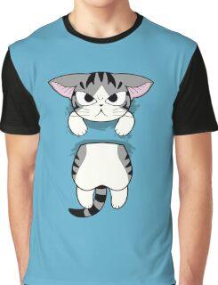 cat   portable  Graphic T-Shirt