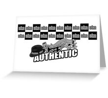 Ska Authentic Greeting Card