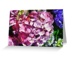 Floral Harmony Greeting Card