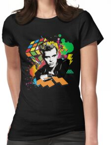 Billy Idol 80's Womens Fitted T-Shirt