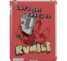 Let's get ready to Rumble! N64 iPad Case/Skin