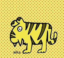 Nits ... for Kids - Tiger bags by aint-no-zombie