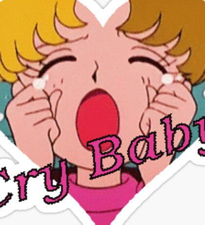 Sailor Moon Cry baby Sticker