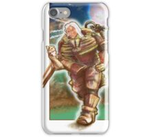 Woman Cosmonaut Soldier - Comics Character iPhone Case/Skin