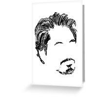 Robert Downey Jr. Greeting Card