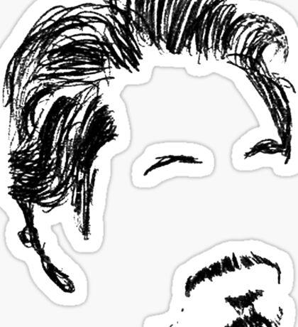 Robert Downey Jr. Sticker