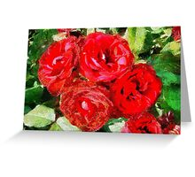 Red Roses Forever Greeting Card