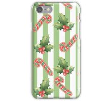 Watercolor Christmas seamless pattern iPhone Case/Skin