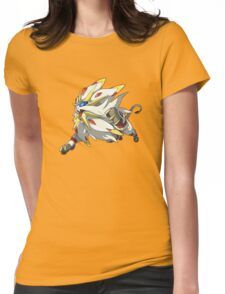 Solgaleo - PKMN Womens Fitted T-Shirt