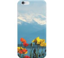 Swiss Flowers iPhone Case/Skin