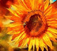 I am sunflower by Jim-Kayalar
