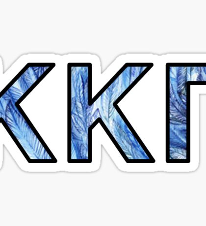 KKG - Feathers Sticker