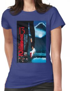 Friday The 13th part 2 japan poster Womens Fitted T-Shirt
