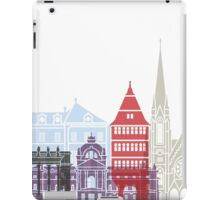 Strasbourg skyline poster iPad Case/Skin