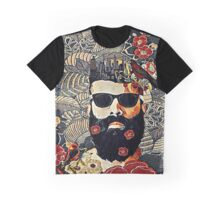 Beard and glasses Graphic T-Shirt