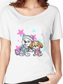 Paw Patrol Girls Women's Relaxed Fit T-Shirt