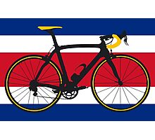 Bike Flag Costa Rica (Big - Highlight) Photographic Print