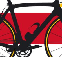 Bike Flag Costa Rica (Big - Highlight) Sticker