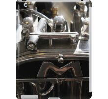 Classic vintage motorbike part, home decor, gifts for him and accessories iPad Case/Skin