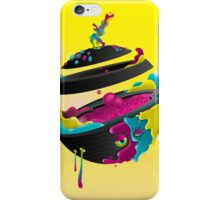 CMYK Planet - Yellow iPhone Case/Skin