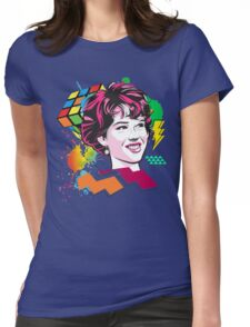 Molly Ringwald 80's Womens Fitted T-Shirt