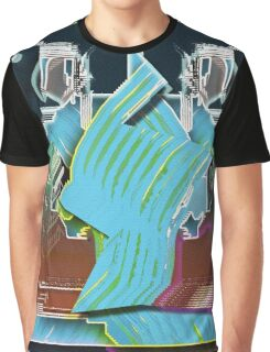 Brush Stroke Dither Graphic T-Shirt